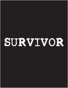 "PDF cover with ""SURVIVOR"" text"