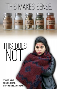 Artist: Samantha Nagy Year: 2014 Medium: Digital images Artist Statement: This series of 3 posters works as an Anti- Anti-stigma campaign to help promote justice for those suffering from systemic discrimination due to their diagnostic labels.